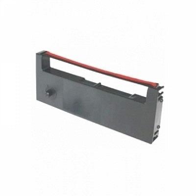 Farbbandkassette SEIKO QR830/900 (schwarz/rot)