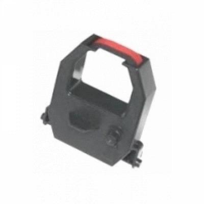 Farbbandkassette AMANO EX/CP/MJR (schwarz/rot)