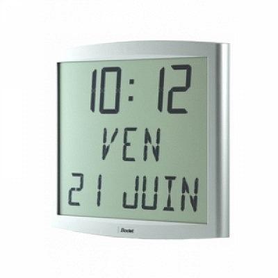 Extraflache LCD Digitaluhr Cristalys Date