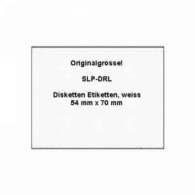 Modell SLP-DRL (Diskettenetiketten)