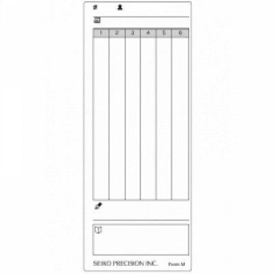 100 Stück Stempelkarten Modell Z120 (FormM)