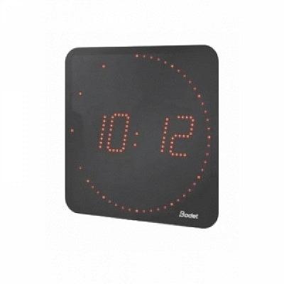 STYLE 7 Ellipse, Digitaluhr mit roten LED Dioden.