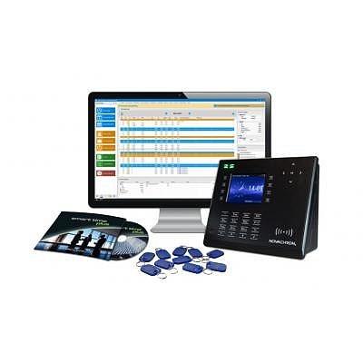 Zeiterfassungsset Angebot 1, Smart Time Plus inklusive Terminal NTA 960 mit RFID Leser.
