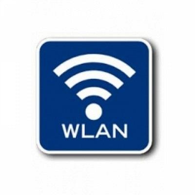 wLan ( WiFi ) im Terminal eingebaut.