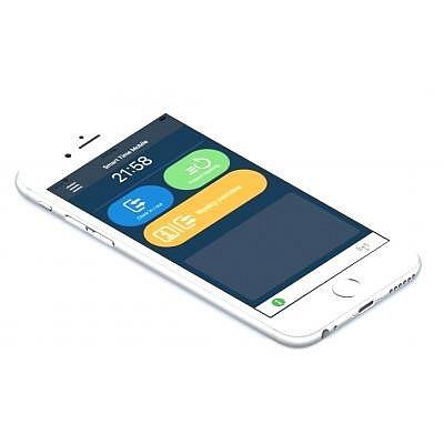 """Basislizenz Mobile Web Buchungsterminal für 5 Personen, für """"Stempeln"""" am PC/Tablet/Smartphone."""