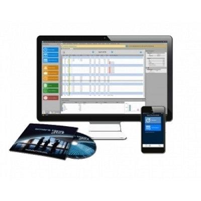 """Zeiterfassungsset Angebot 3, Smart Time Plus Mobile inklusive Web Buchungsterminal, für """"Stempeln"""" am PC, Tablet und Handy."""
